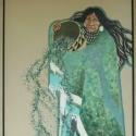 cominggreenwoman